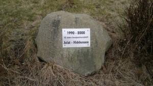 Gedenkstein Inselpartnerschaft