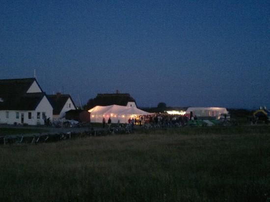 Blaues Band in Neuendorf @ Am Hafen in Neuendorf | Insel Hiddensee | Mecklenburg-Vorpommern | Deutschland