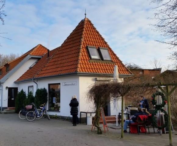 Die Pension Seemanshus in Vitte auf Hiddensee