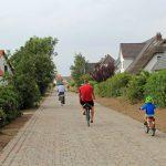 Sanierter Wiesenweg in Vitte auf Hiddensee