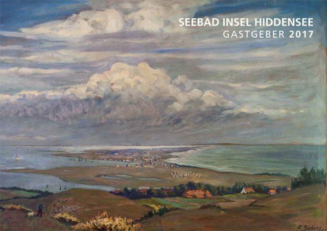 Titelbild des neuen Hiddensee Gastgeberverzeichnis 2017
